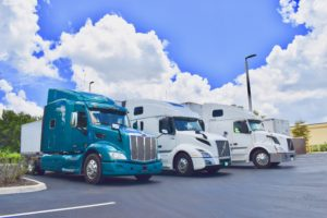 Healthy Status Transportation truckers report changing bad habits to good ones.