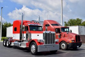 Status Transportation truckers report on good health habits.